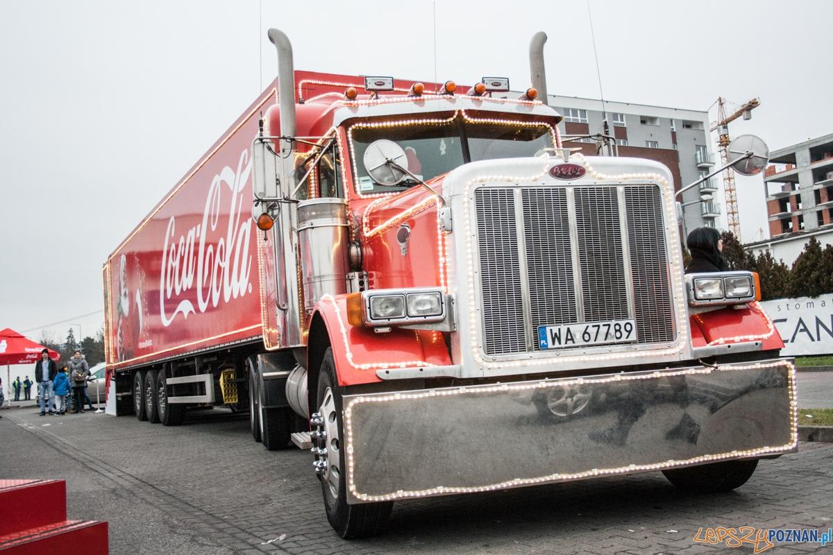 Świąteczna trasa Coca Coli  Foto: © lepszyPOZNAN.pl / Karolina Kiraga