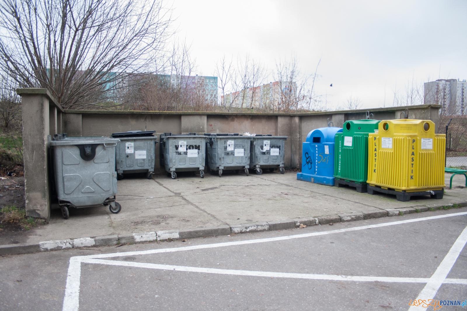 Śmietnik / śmieci  Foto: © lepszyPOZNAN.pl / Karolina Kiraga
