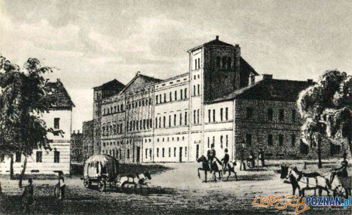 Hotel Bazar - 1842-48  Foto: Trakt Królewsko - Cesarski