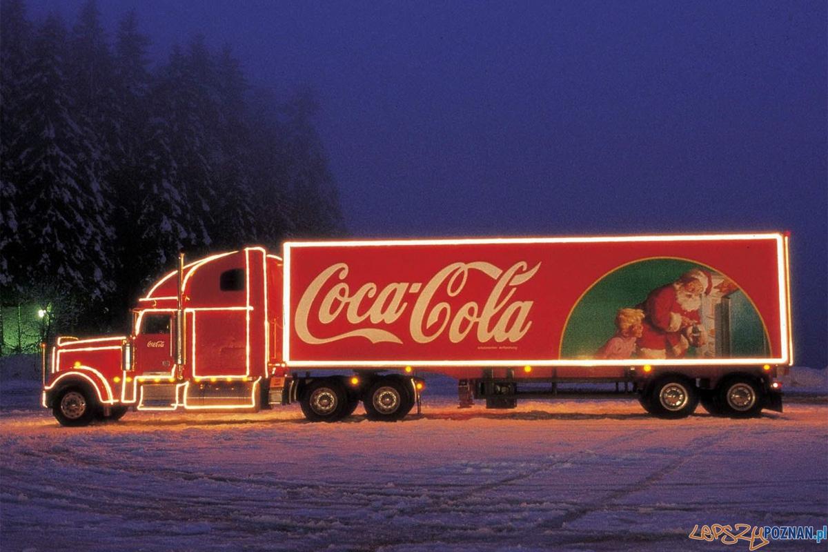 Świąteczny Konwój  Foto: Coca-Cola / facebook