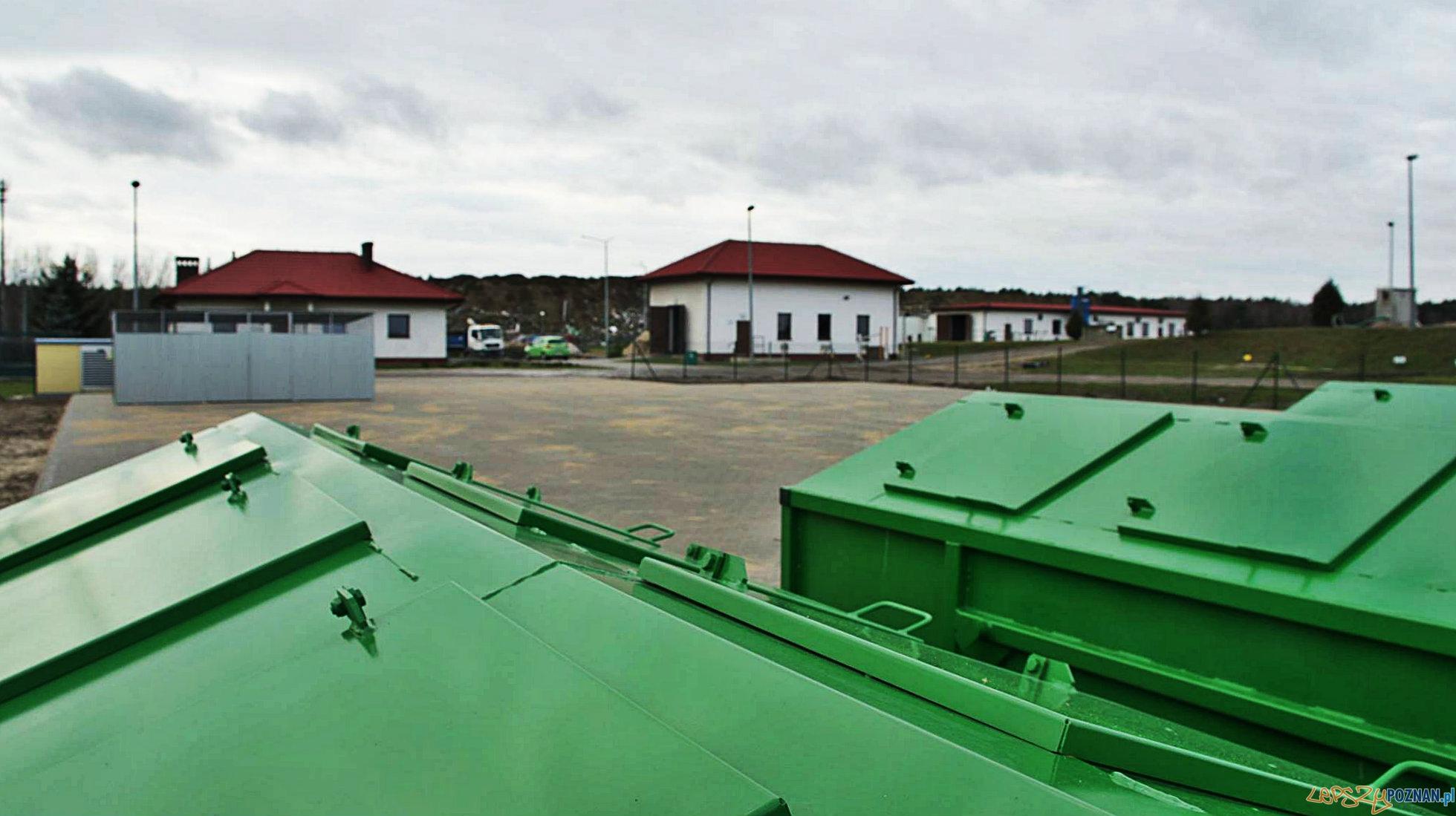 Punkt Selektywnej Zbiórki Odpadów Komunalnych  Foto: UMiG Dopiewo / Adam Mendrala