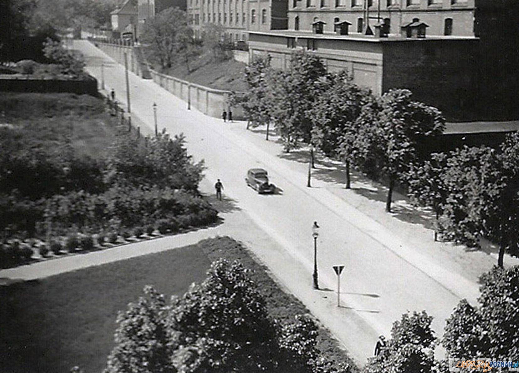 Ulica Kościuszki podczas okupacji (Grolmanwall)  Foto: Marek Steling / Cyryl