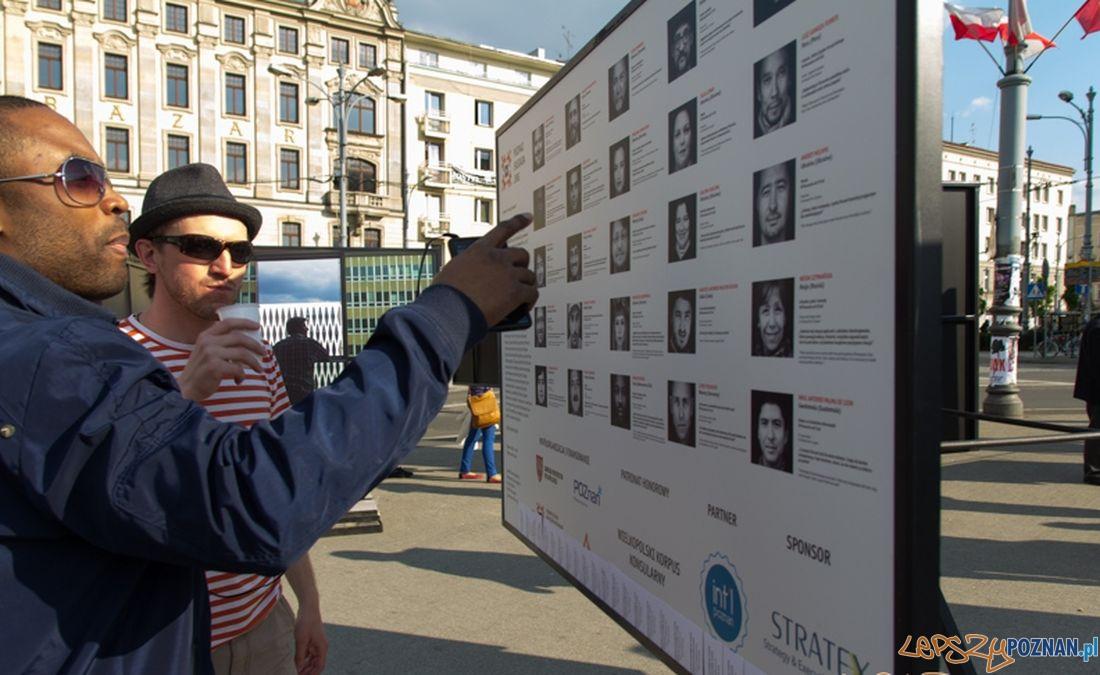 Obcokrajowcy w Poznaniu  Foto: Piotr Richter