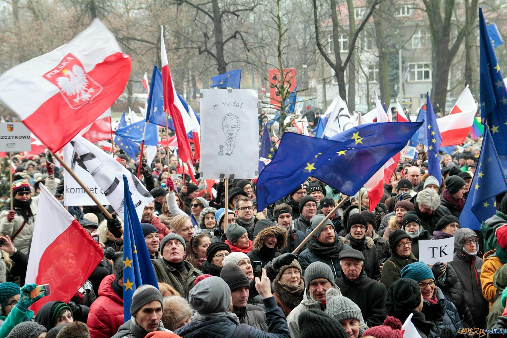 """Marsz """"W obronie Twojej wolności"""" - Poznań 23.01.2016 r.  Foto: LepszyPOZNAN.pl / Paweł Rychter"""