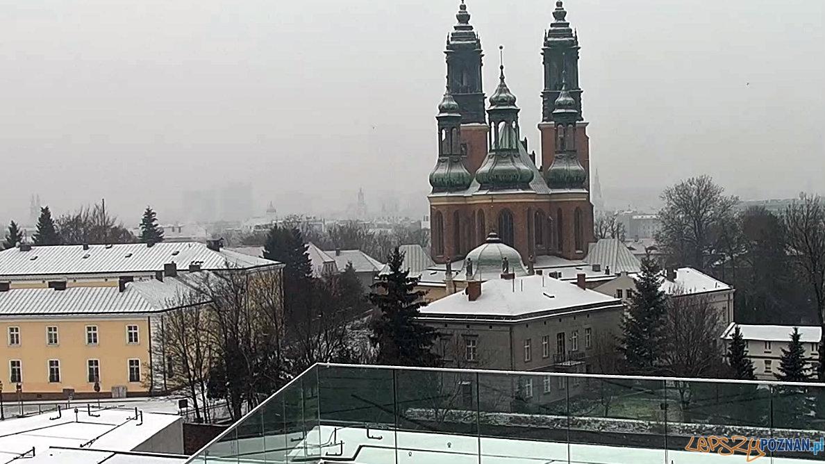 Katedra, 1.01.2016  Foto: Kamera Bramy Poznania