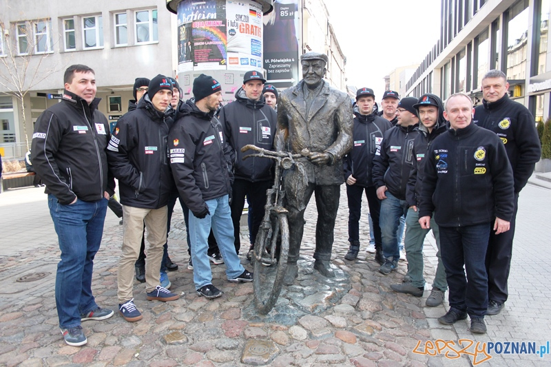 Drużyna Betard Sparta Wrocław odwiedziła Poznań  Foto: Poznańskie Stowarzyszenie Żużla