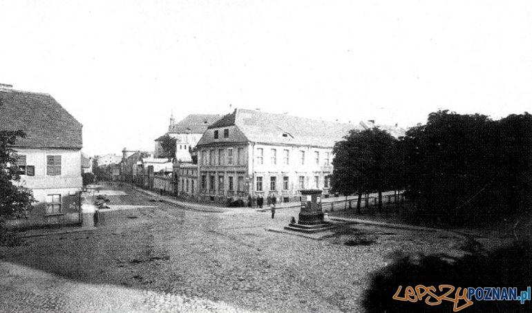 Aleje Marcinkowskiego, koniec XIX wieku  Foto: