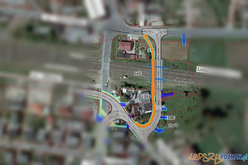 Koncepcja tunelu kolejowego w Kostrzynie  Foto: UMiG Kostrzyn