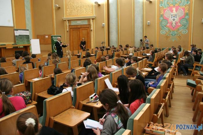 Zajęcie Ekonomicznego Uniwersytetu Dziecięcego  Foto: UEP