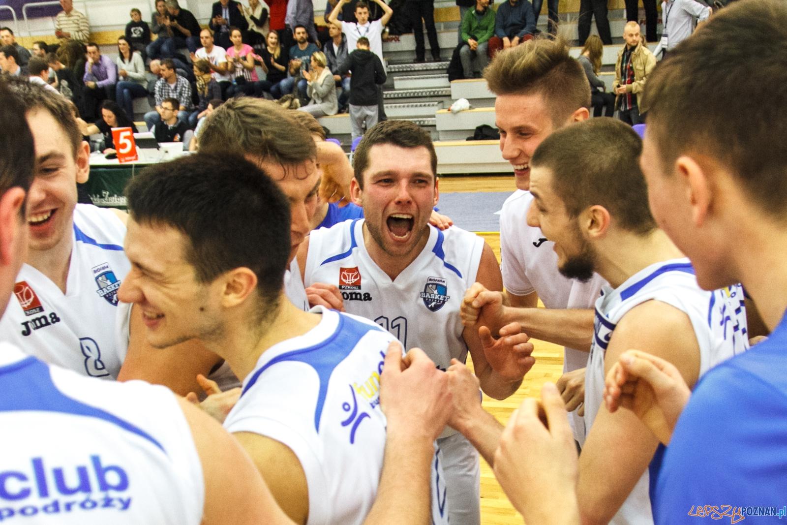 Biofarm Basket Poznań - Max Elektro Sokół Łańcut 56:50 - Po  Foto: LepszyPOZNAN.pl / Paweł Rychter