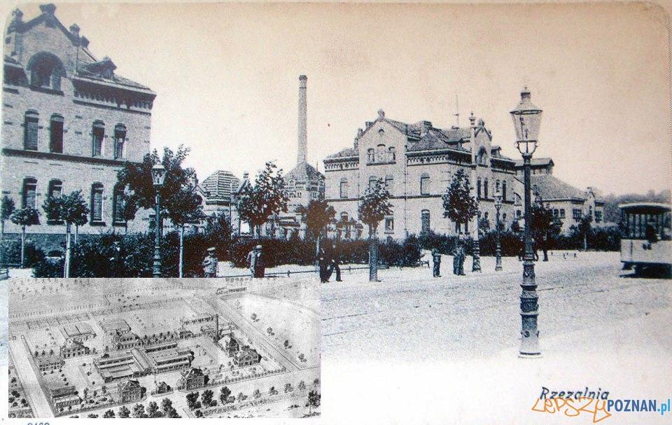 Rzeznia, początek XX wieku  Foto: Kolekcja pocztówek Biblioteki Uniwersyteckiej