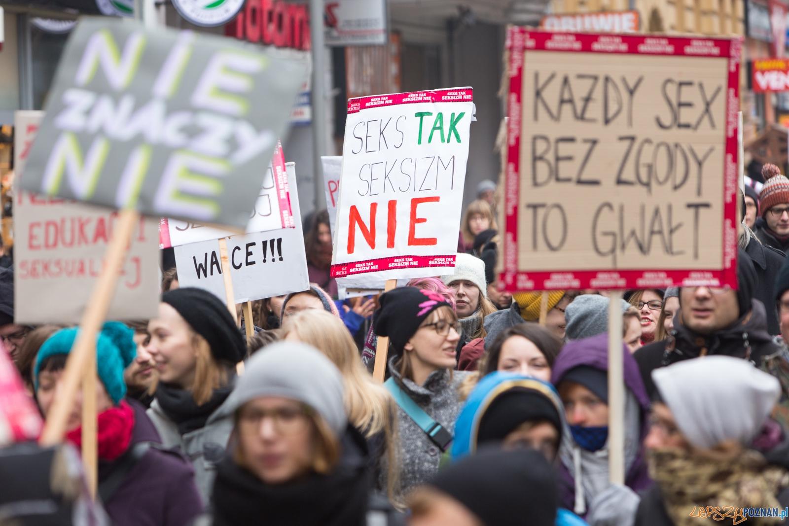 Solidarnie przeciw kulturze gwałtu – Manifa 2016 w Poznaniu  Foto: lepszyPOZNAN.pl / Piotr Rychter