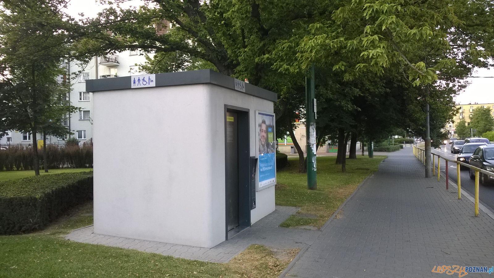 Publiczna toaleta przy Strzeleckiej  Foto: TD