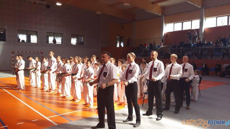 WSSW w XIII Mistrzostwach Wielkopolski Oyama Karate w Kata  Foto: mat. prasowe