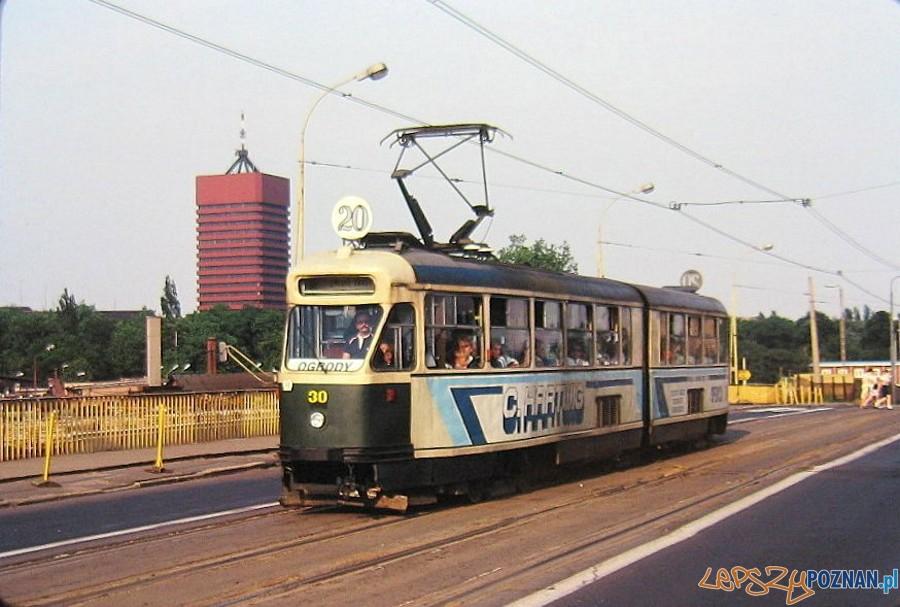 Most Dworcowy - koniec lat 80-tych  Foto: fotopolska
