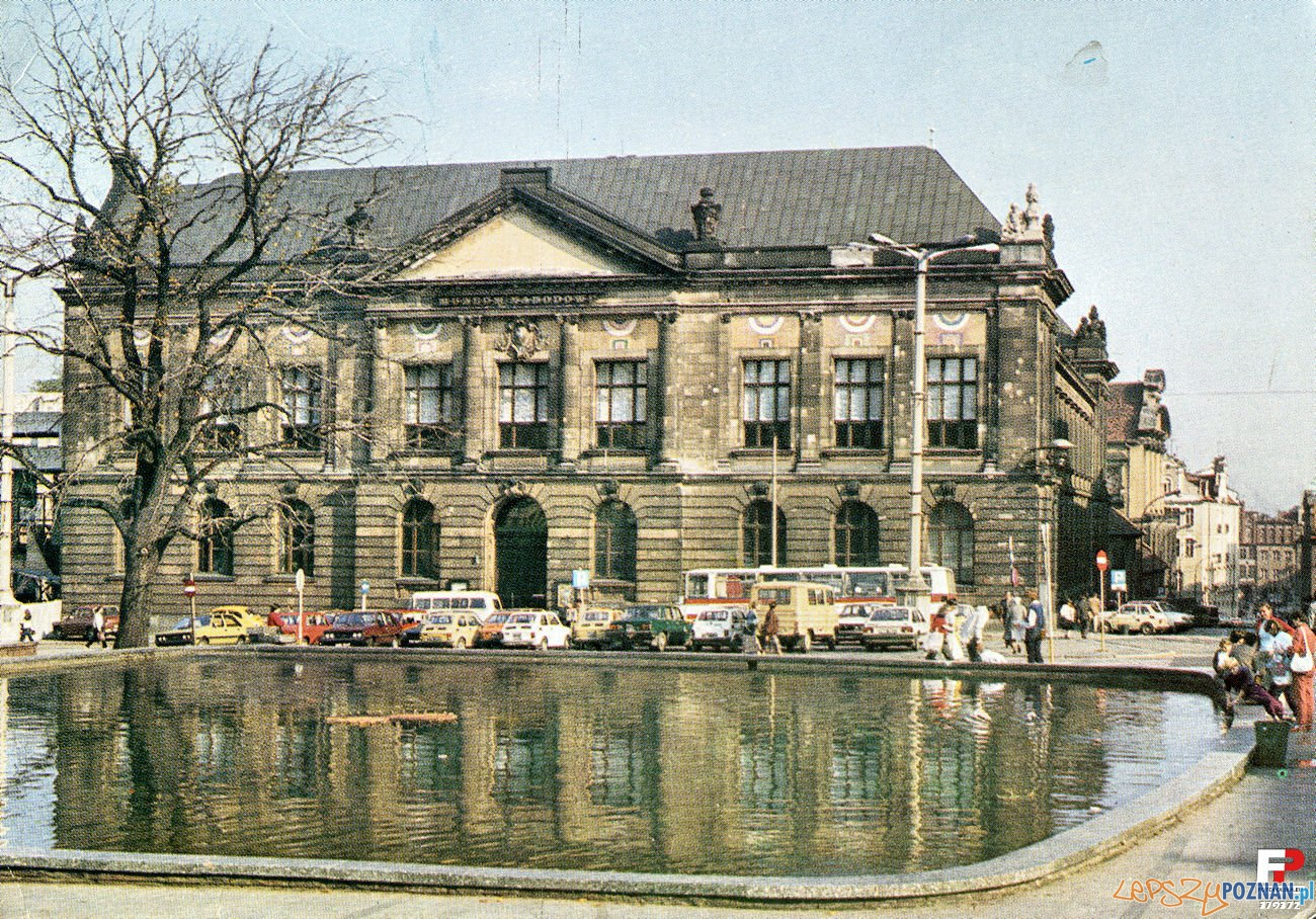 Muzeum Narodowe  - 1984-85  Foto: Pocztówka KAW fot. L.Surowiec / fotopolska