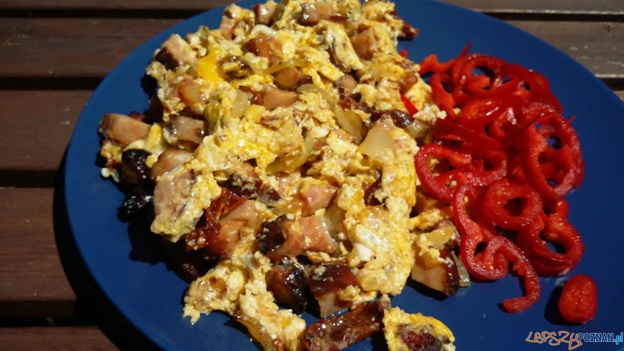 Jajecznica po grillu  Foto: lepszyPOZNAN.pl / tab