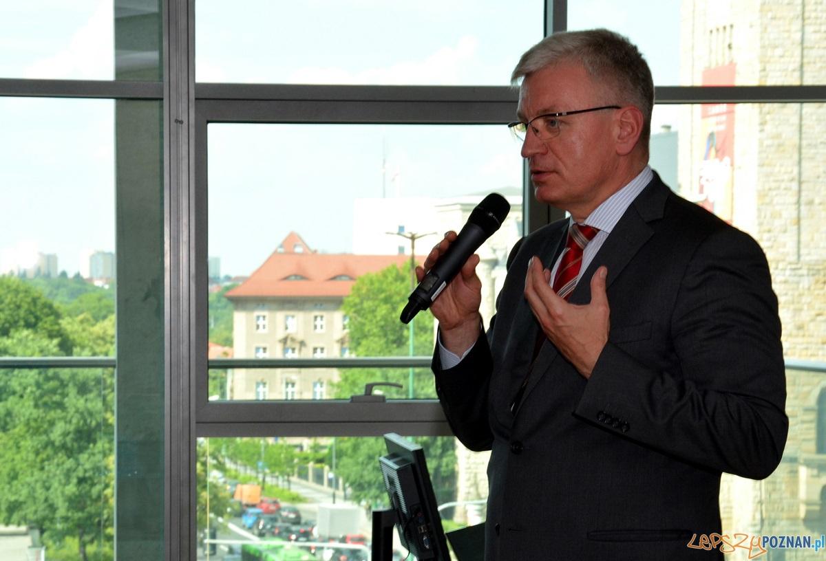 Prezydent poznania Jacek Jaskowiak  Foto: UMP Poznań