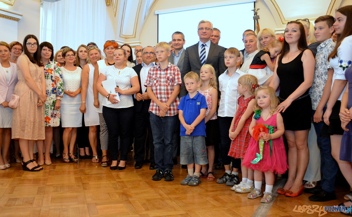 Nowi mieszkańcy Poznania  Foto: UMP