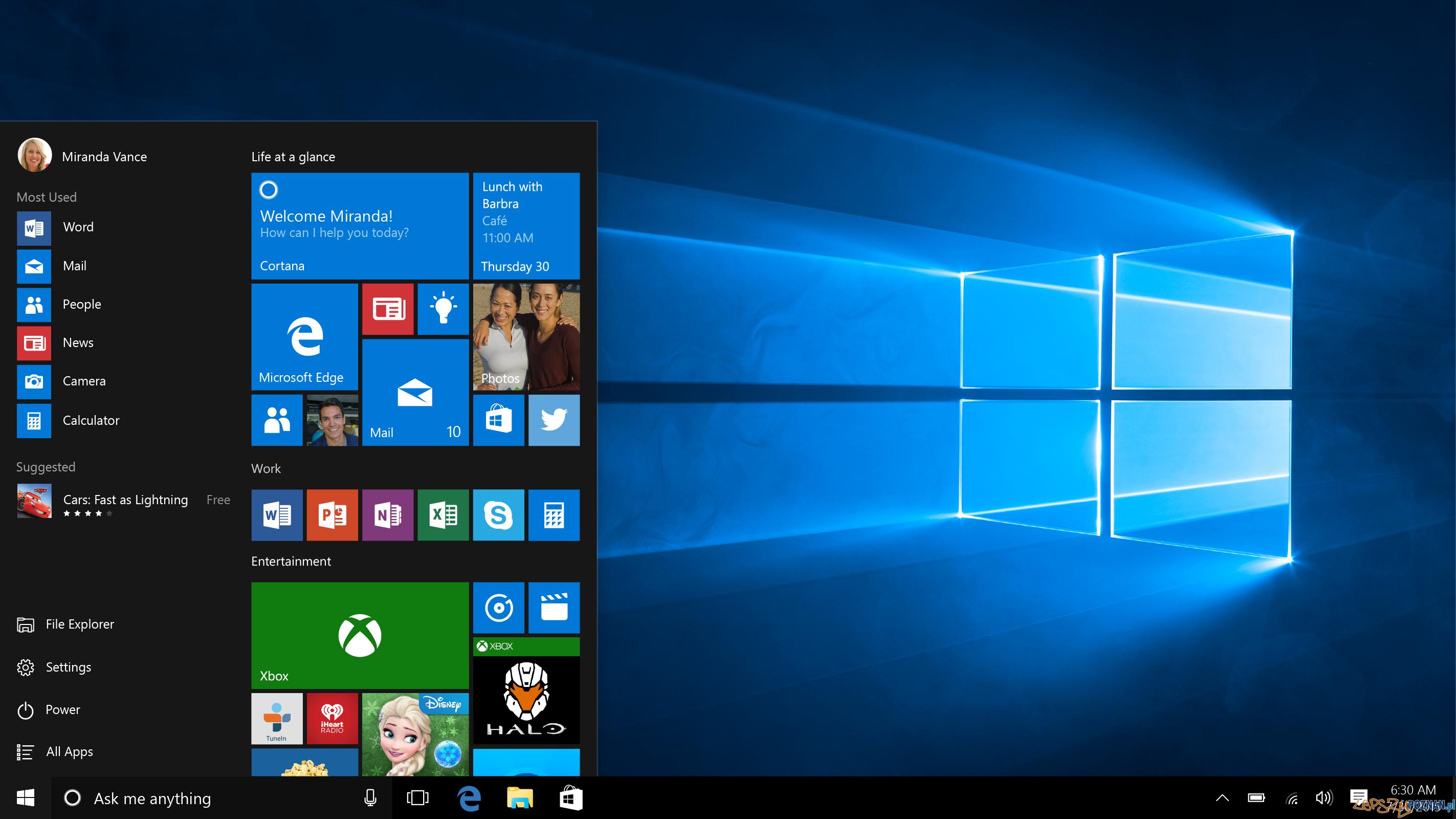Darmowy Windows 10  Foto: Microsoft