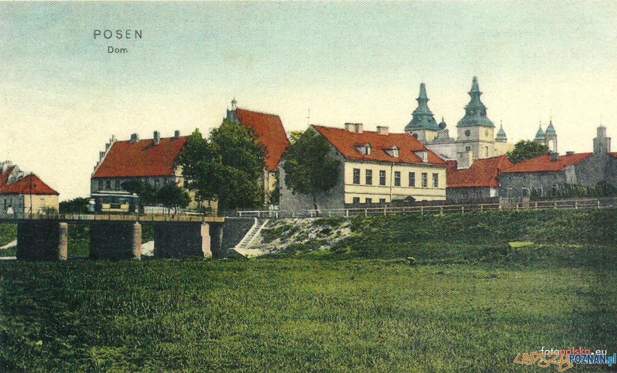 Most Tumski 1900  - 1905  Foto: fotopolska