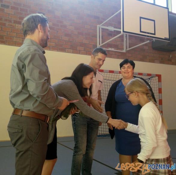 Komputery dla szkół od Bridgestone - SP Lednogóra  Foto: mat. prasowe