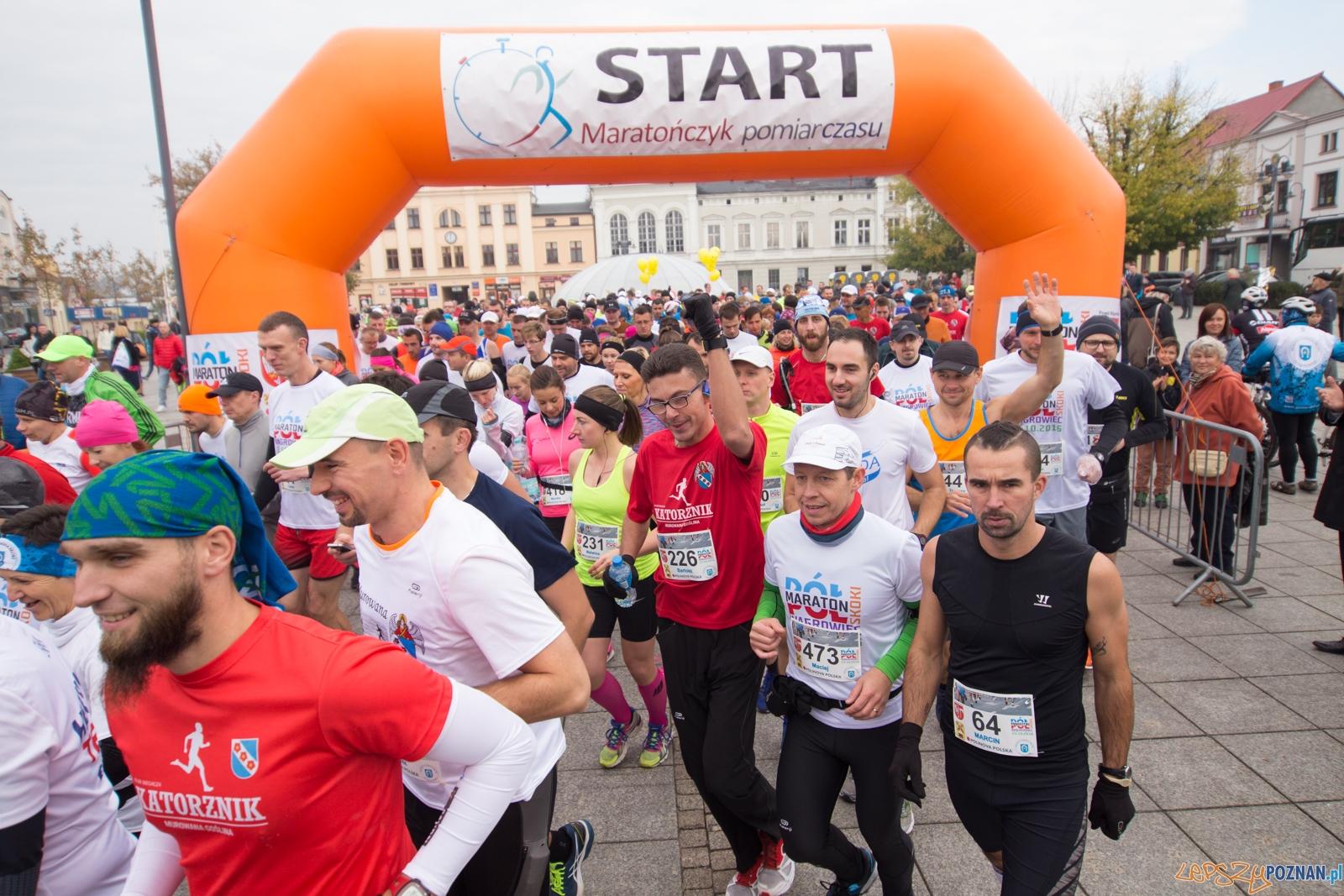 I Półmaraton Wągrowiec Skoki  Foto: lepszyPOZNAN.pl / Piotr Rychter