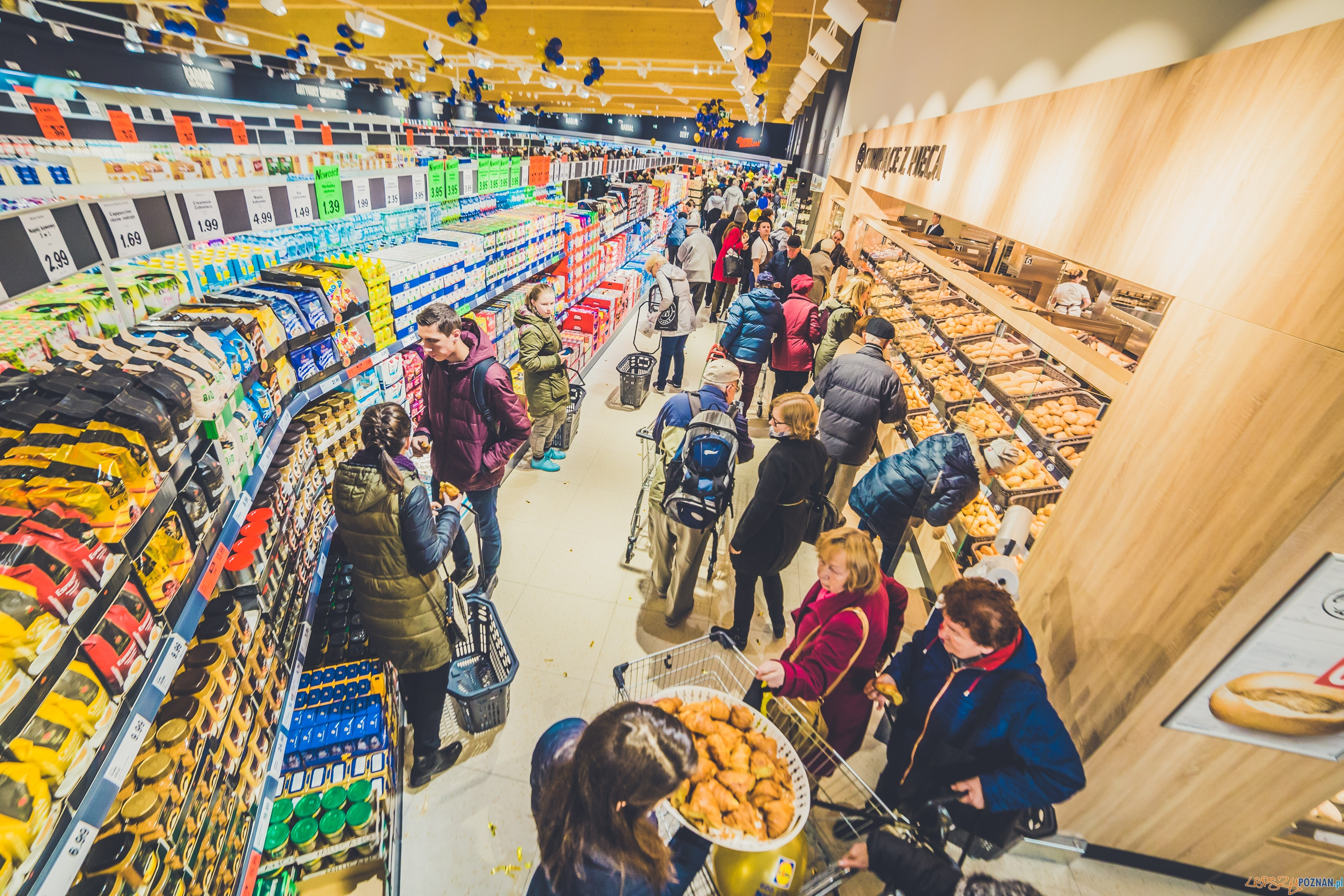 Otwarcie 600 sklepu Lidl  Foto: Lidl