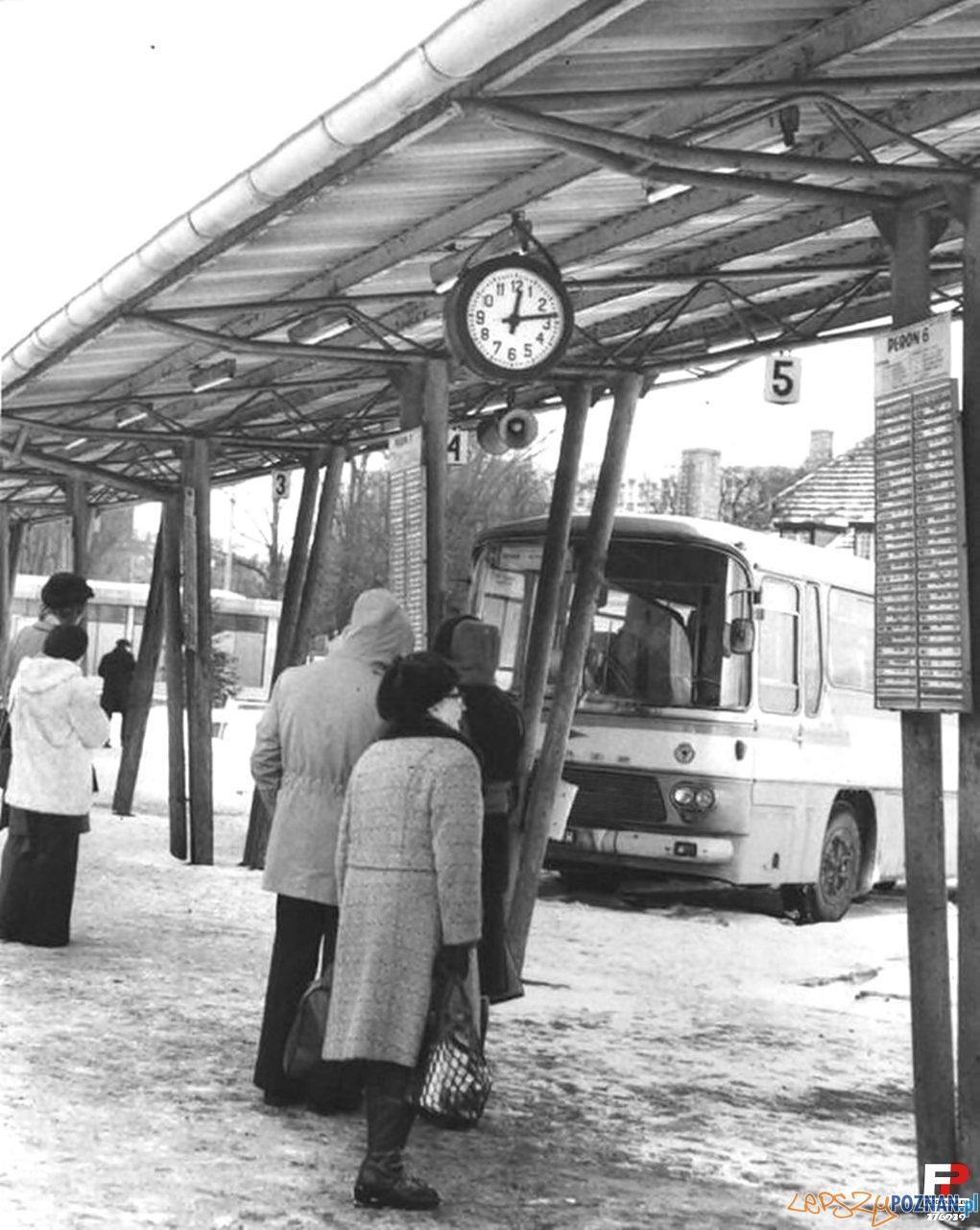 Dworzec PKS - lata 80.te  Foto: Archiwum PKS