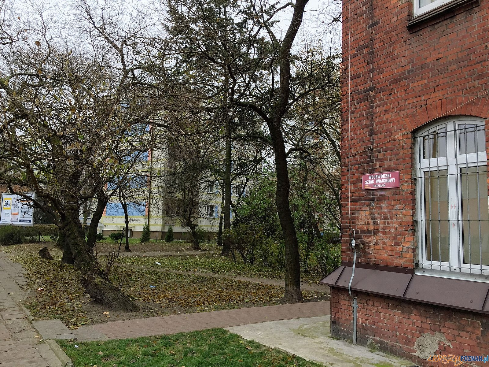 Blok zamiast zieleni?  Foto: Rada Osiedla Stare Miasto / Marcin Liminowicz