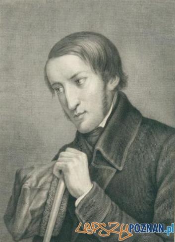 Portret Karola Marcinkowskiego autorstwa Stanisława Łukomskiego z 1867 roku.