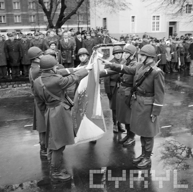 Ślubowanie żołnierzy w Dniu Podchorążego  Foto: Stanisław Wiktor / Cyryl