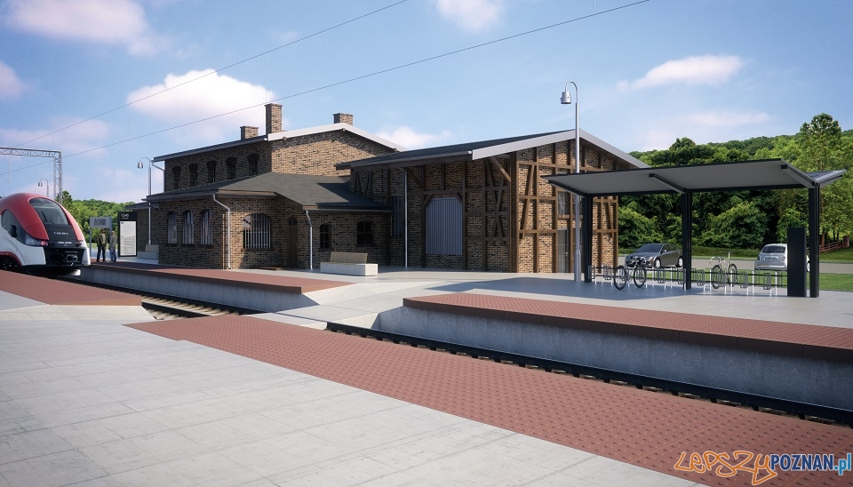 Przebudowa i modernizacja dworca w Złotnikach  Foto: UMiG Suchy Las
