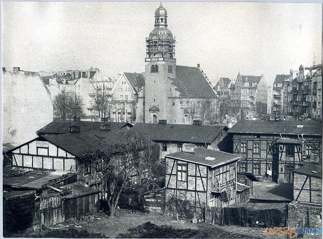 Rynek Wildecki, początek lat 70.tch  Foto: Fundacja Spot