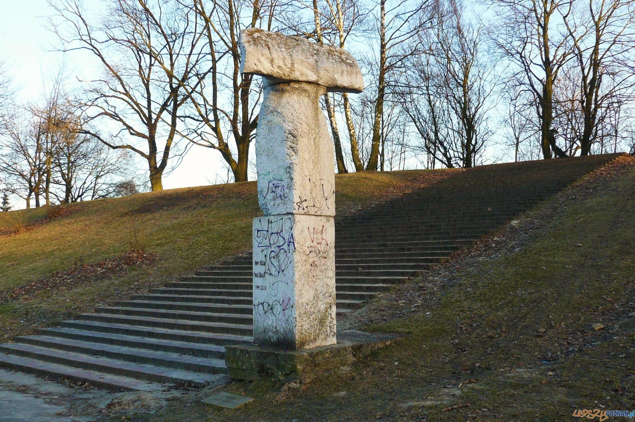 Zryw - rzeźba Józefa Kaliszana na Cytadeli  Foto: MOs810 / wikipedia