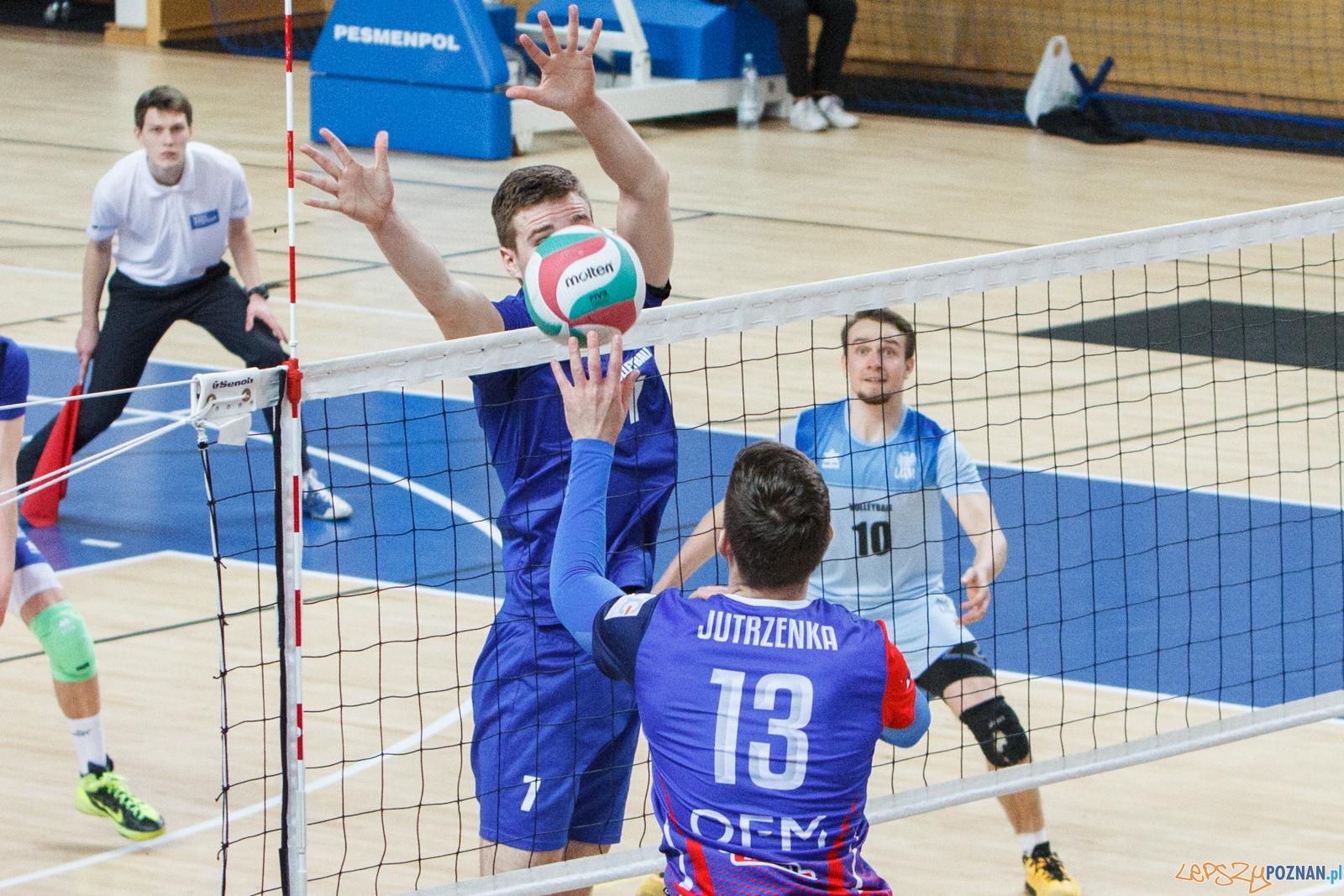 I Runda Play-Off: AZS UAM Poznań - OFM Bielawianka Bielawa 3:0  Foto: LepszyPOZNAN.pl / Paweł Rychter