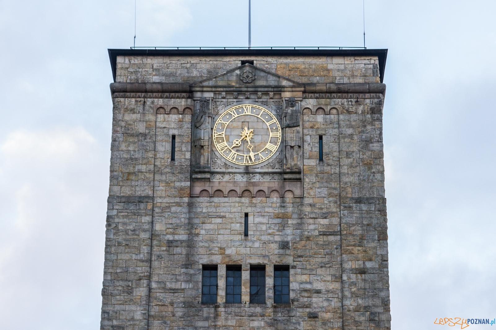 Wieża zegarowa CK Zamek  Foto: © Karolina Kiraga