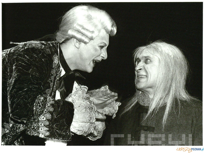 Mariusz Sabiniewicz i Michał Grudziński  Don Juan - Teatr Nowy 1992  Foto: Mariusz SStachowiak / Teatr Nowy / Cyryl
