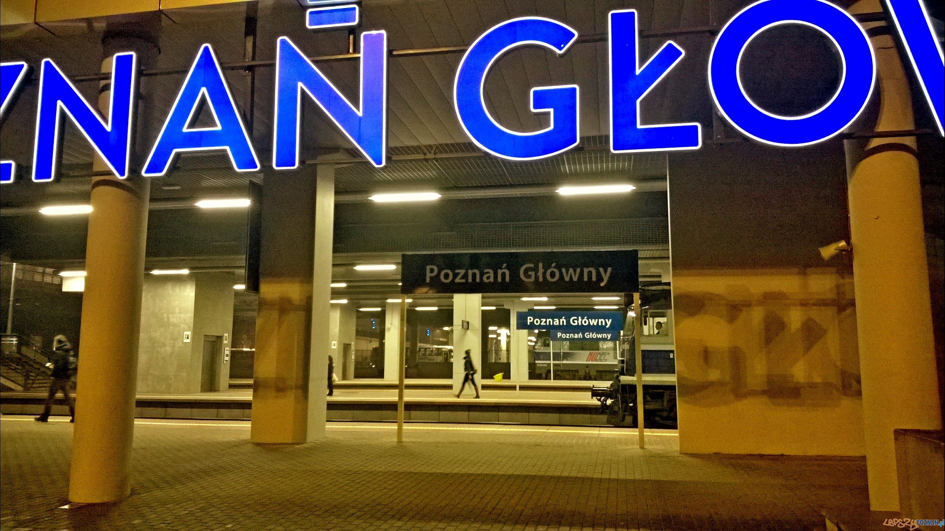 Dworzec Poznań Głowny  Foto: TD