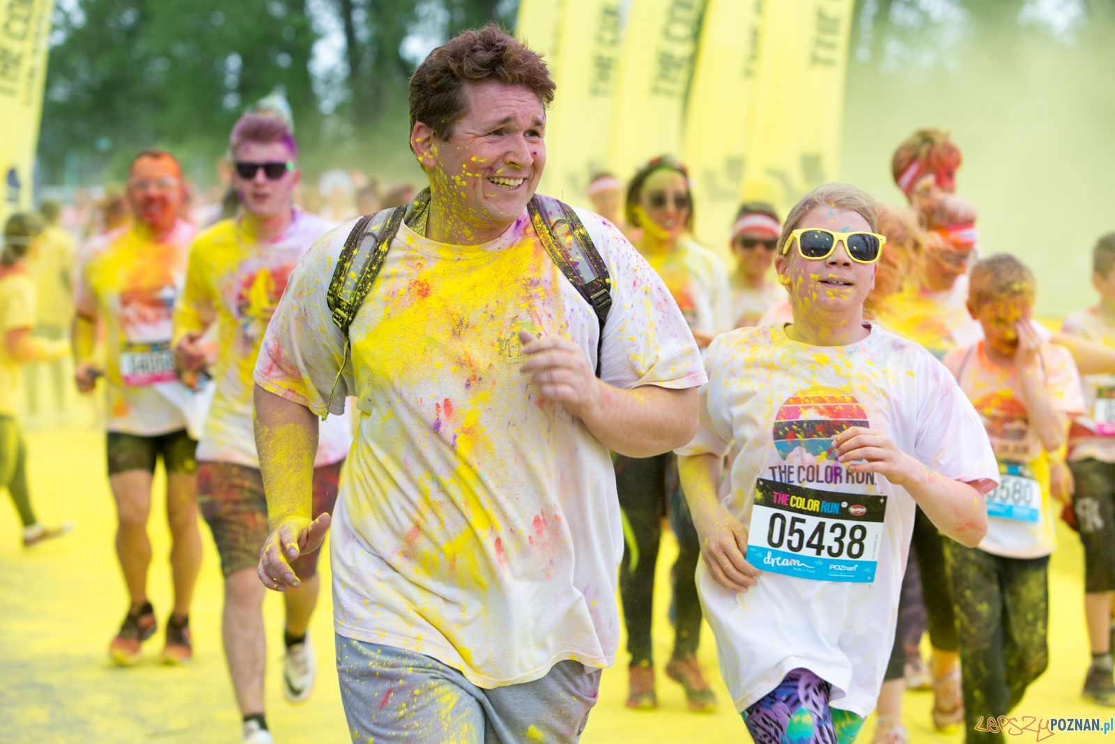 The Color Run - #Happiest5k  Foto: lepszyPOZNAN.pl/Piotr Rychter