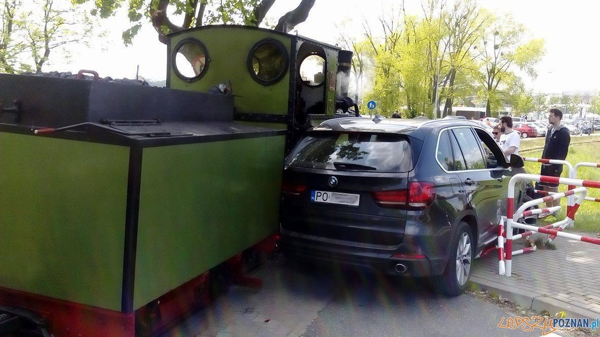 Krakas parowozu i BMW na Malcie  Foto: J. Kubiak / MPK
