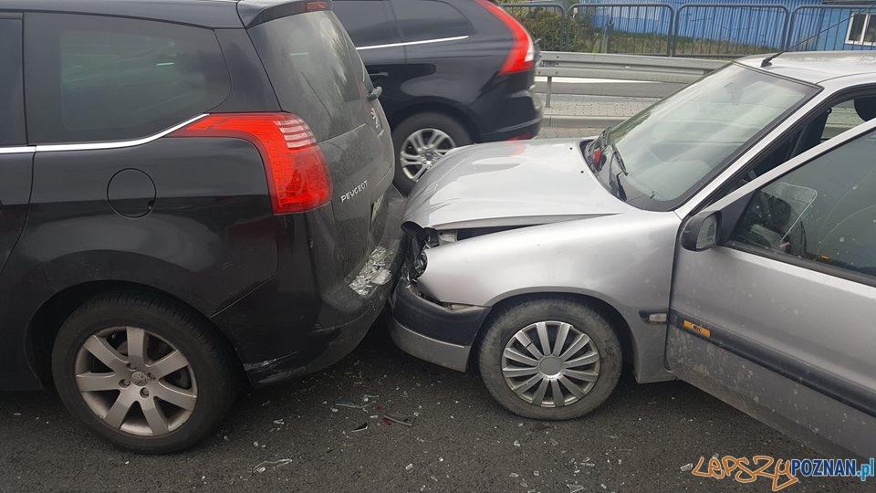 Wypadek 28.04.2017  Foto: Pomoc Drogowa Euro-Hol