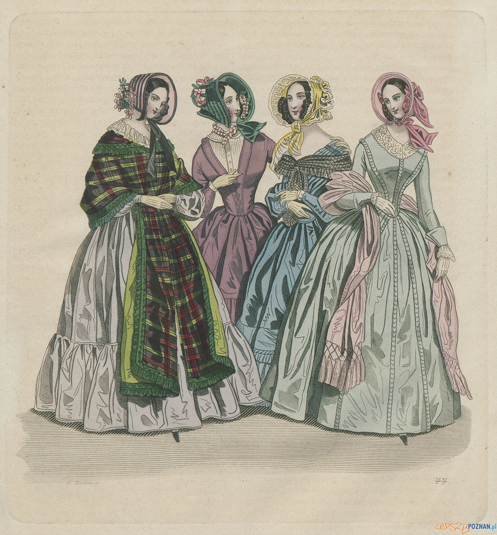 XIX-wieczna moda w zbiorach Biblioteki Raczyńskich