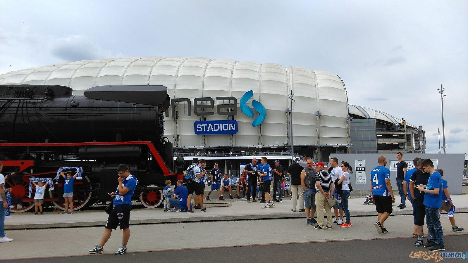 Stadion Miejski Lokomotywa Kolejorza  Foto: T.Dworek
