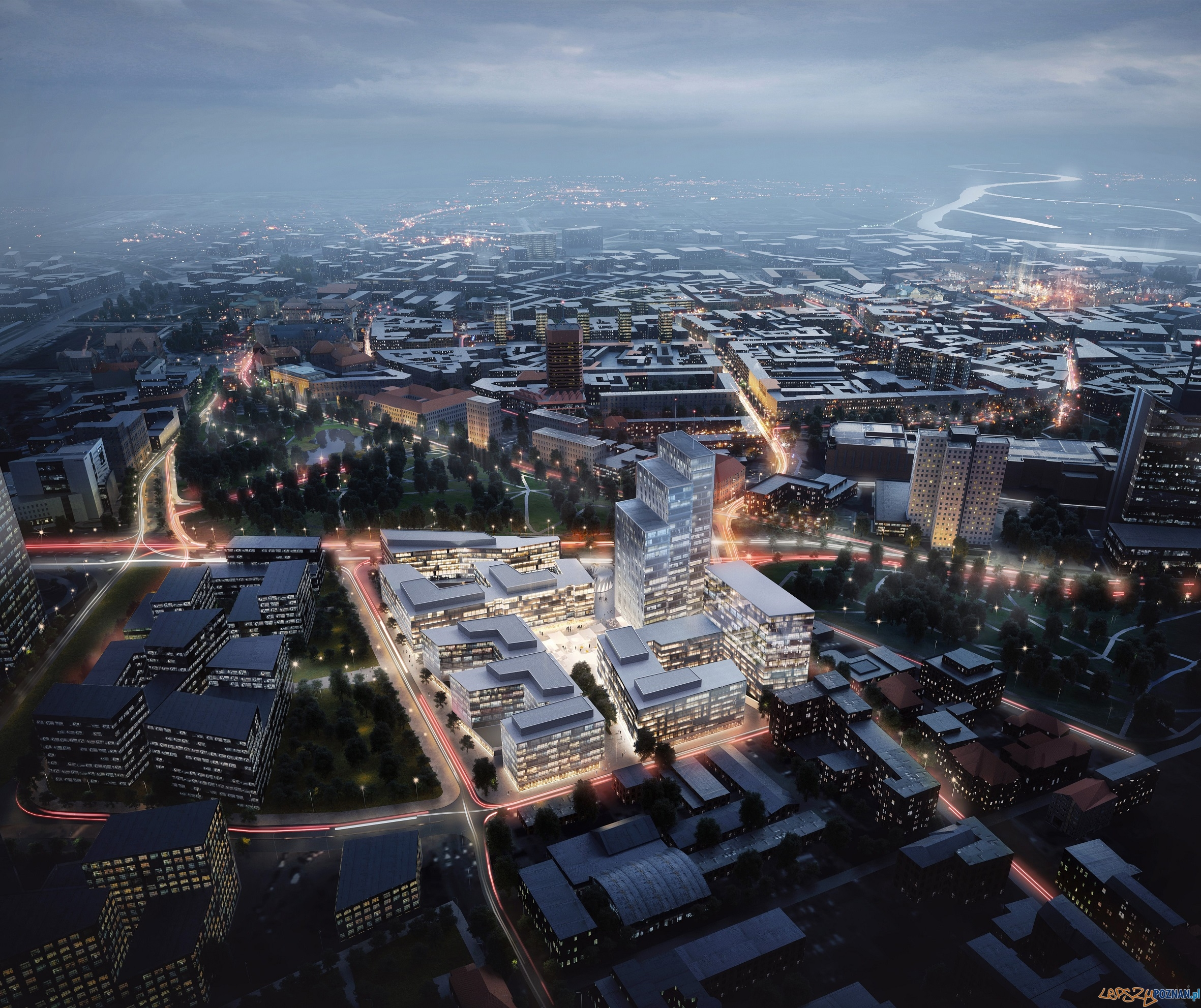 Projekt Nowy Rynek - wizualizacja  Foto: mat. prasowe