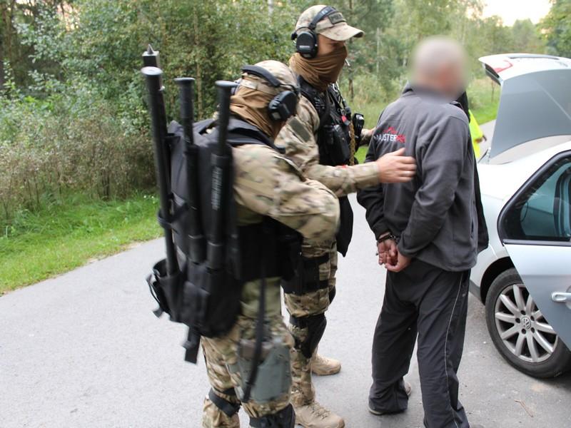 Antyterroryści zatrzymali poszukiwanego mężczyznę  Foto: KWP w Poznaniu