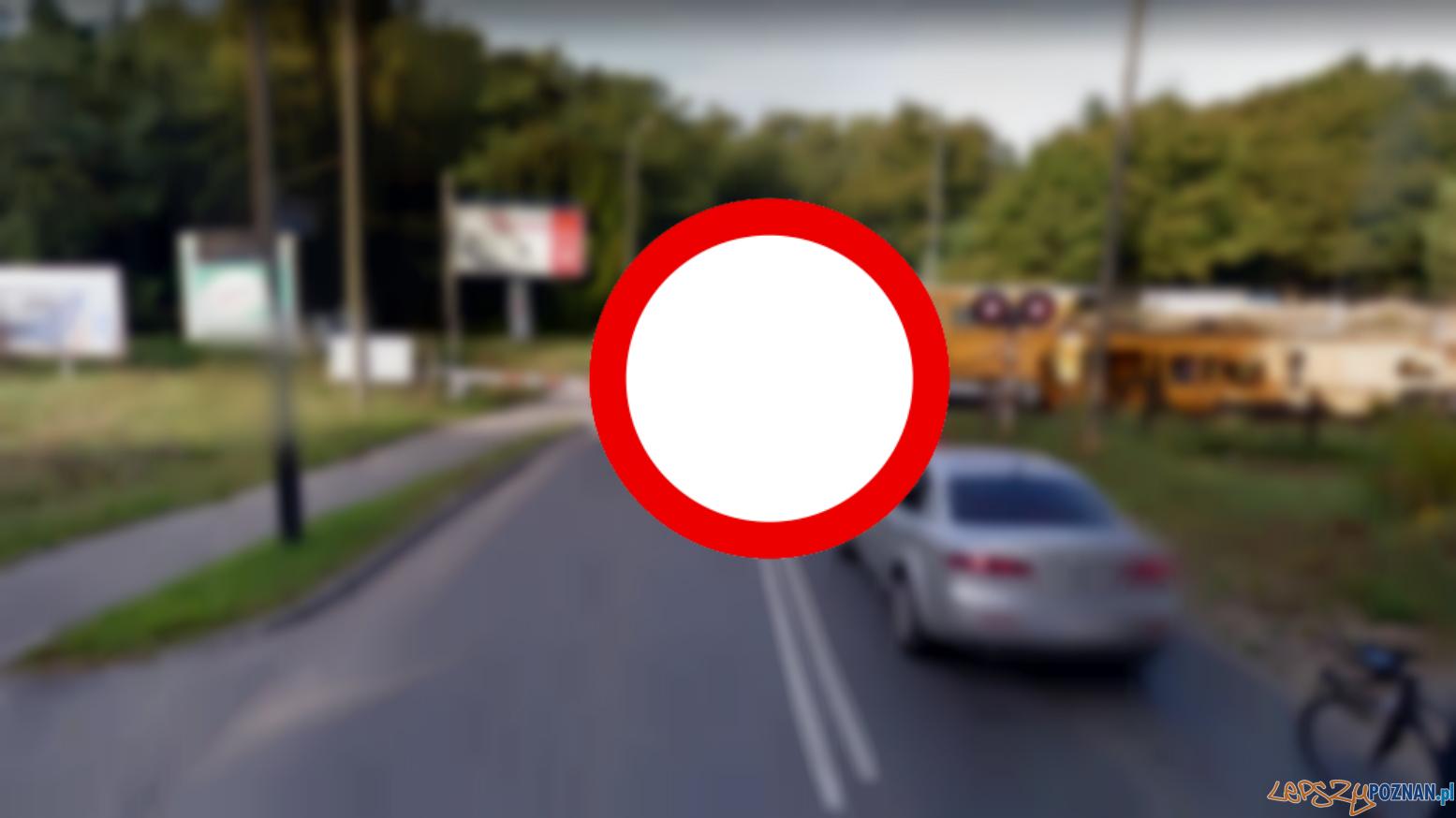 Zamknięte przejazdy  Foto: Google Street View
