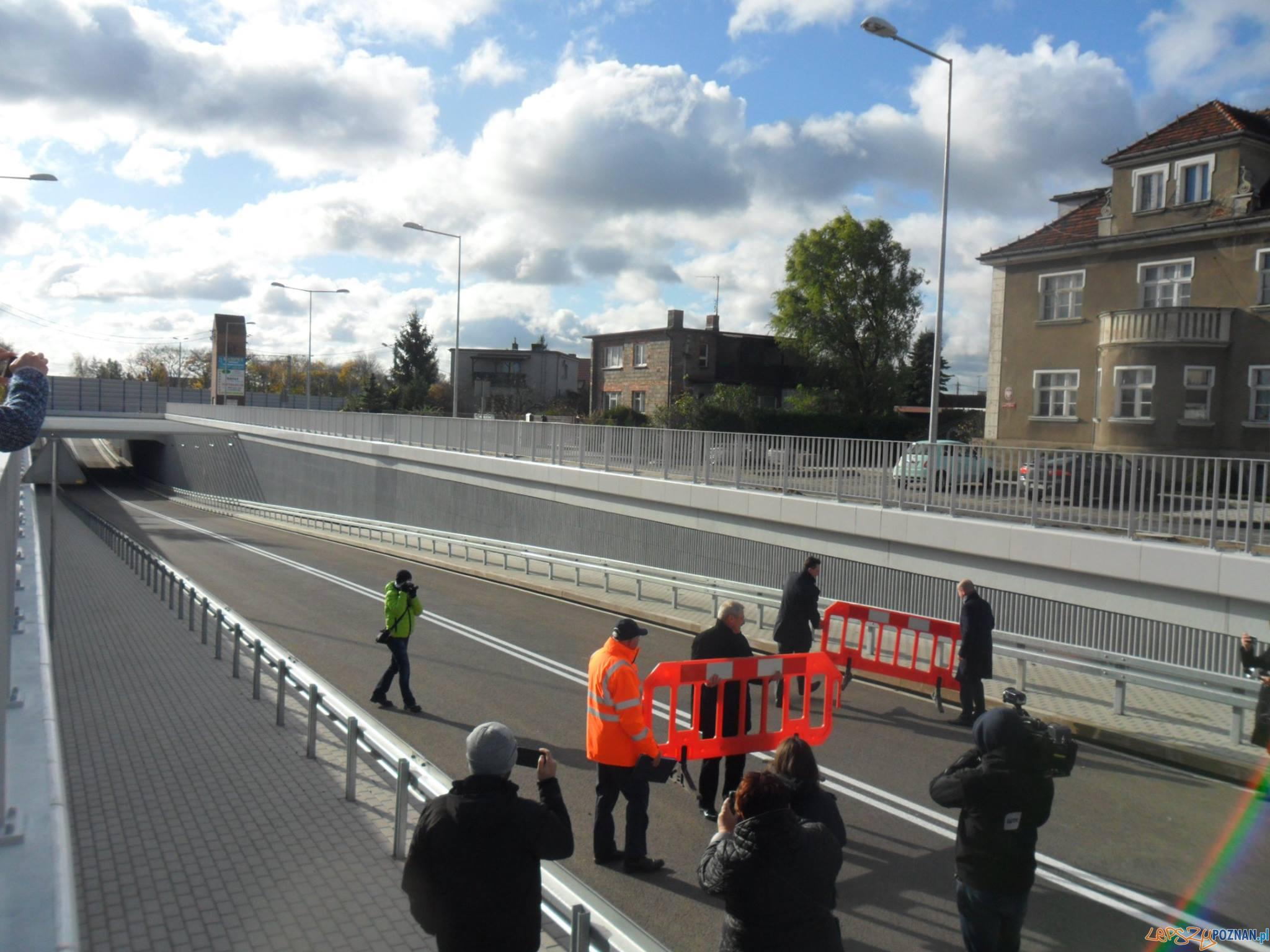 Tunel w Mosinie już otwarty!  Foto: Mosin@ Turystycznie / JN