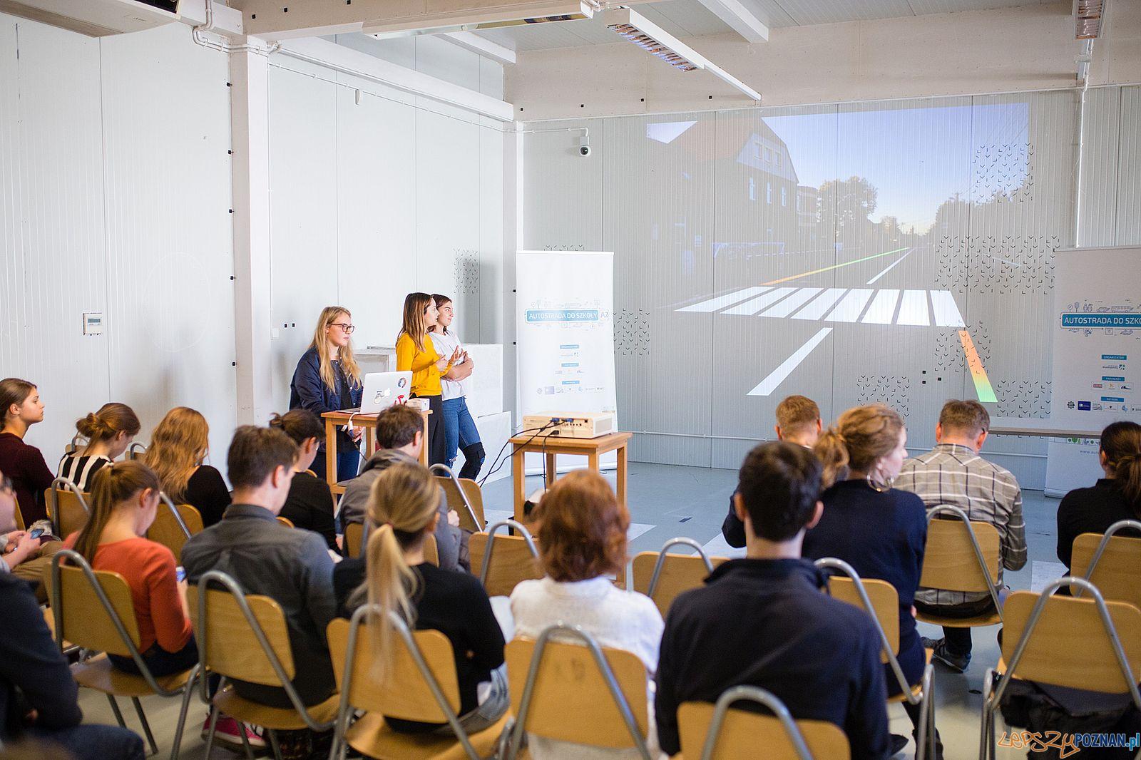 Autostrada do szkoły - studenckie projekty School of Form  Foto: Maciej Nowaczyk / materiały prasowe SoF