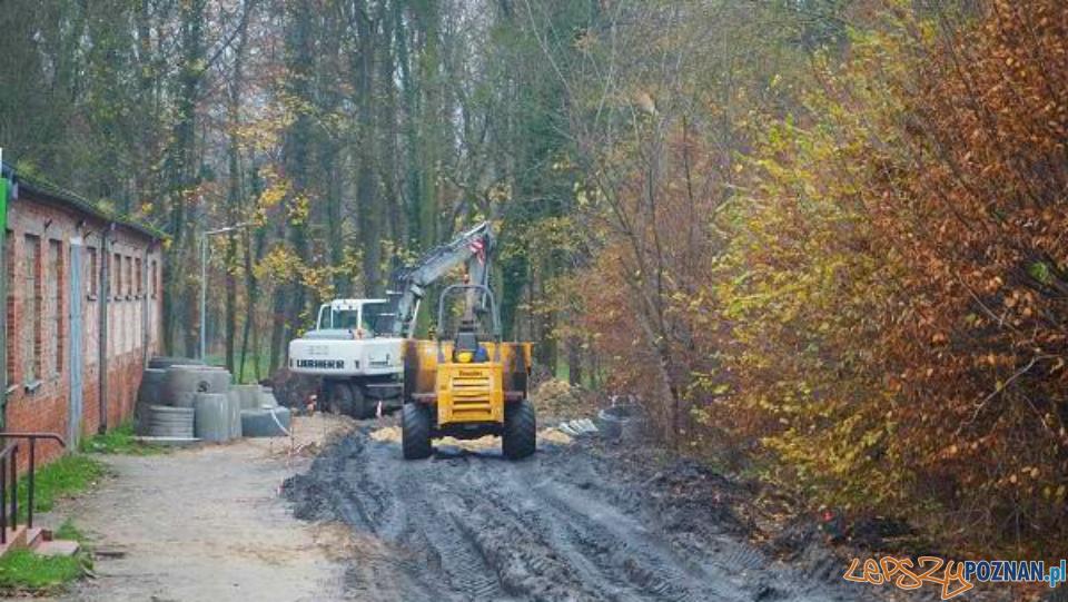 Trwa budowa ulic w Owińskach  Foto: UG Czerwonak